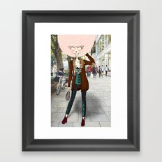 Gitta x. Framed Art Print