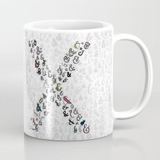 letter X - ampersands Mug