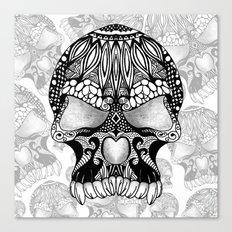 Sugar Skull.  Canvas Print