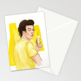 Harry is all yellow Stationery Cards