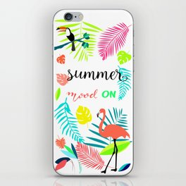 Summer is on iPhone Skin
