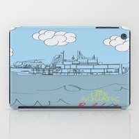 zissou iPad Cases featuring Zissou Boat by Jarom Ward