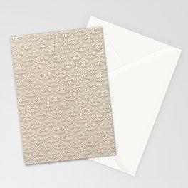 Blond Trellis Stationery Cards