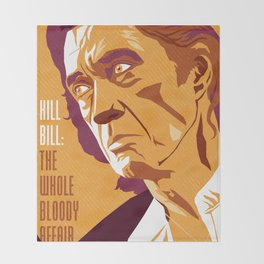 Quentin Tarantino's Plot Movers :: Kill Bill Throw Blanket