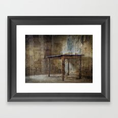 Your Table is Ready Framed Art Print