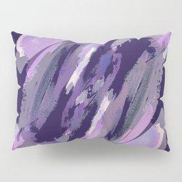 Thunder Plum Abstract Pillow Sham