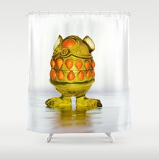 Monster Toy Shower Curtain