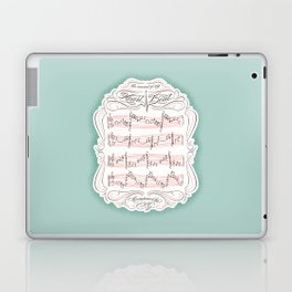The Sound of My Heart Beat Laptop & iPad Skin