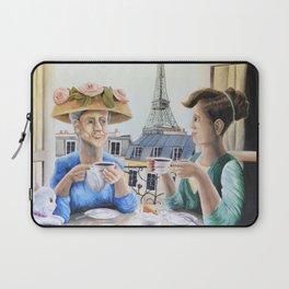 Tea Time in Paris Laptop Sleeve