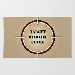 Target Wildlife Crime Rug