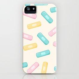 Pastel Plasters iPhone Case
