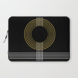 GUITAR IN ABSTRACT (geometric art deco) Laptop Sleeve