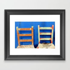 come sit by me Framed Art Print