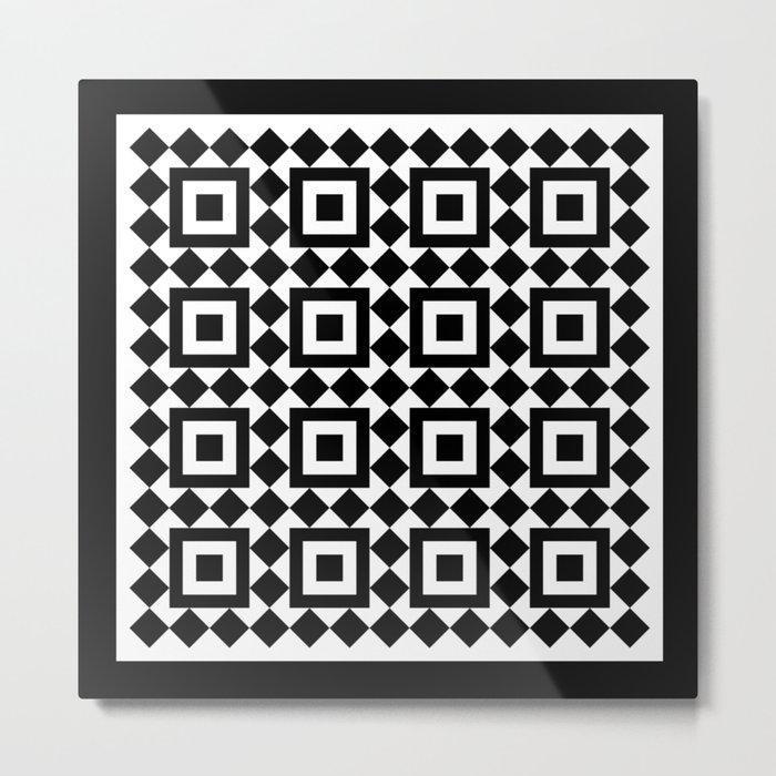 Victorian tile pattern #1 Metal Print