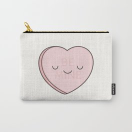 Pink Sweet Candy Heart Carry-All Pouch