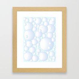 Air Bubbles Framed Art Print