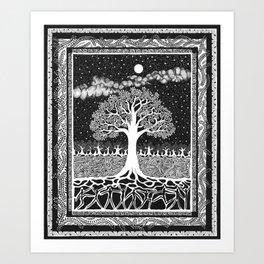 Forest Dance Art Print