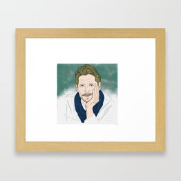 Sean Maguire / Robin Hood (Once Upon A Time) Framed Art Print
