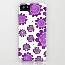 Flower pattern 5 iPhone Case