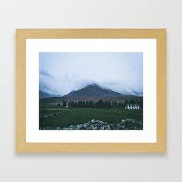 Kashmir: Heaven of India Framed Art Print