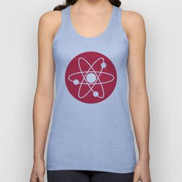 Atom Symbol Unisex Tank Top