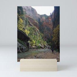 Spectacular Canyon   Lush Surrounding   Hiking   Nature   Outdoors Mini Art Print