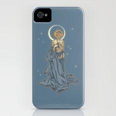 Mucha Pin Up Girl Slim Case iPhone (4, 4s)