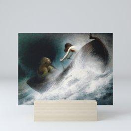 12,000pixel-500dpi - Karl Wilhelm Diefenbach - To The Rescue - Digital Remastered Edition Mini Art Print