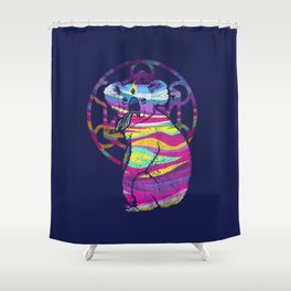 Enlightended  Koala Shower Curtain