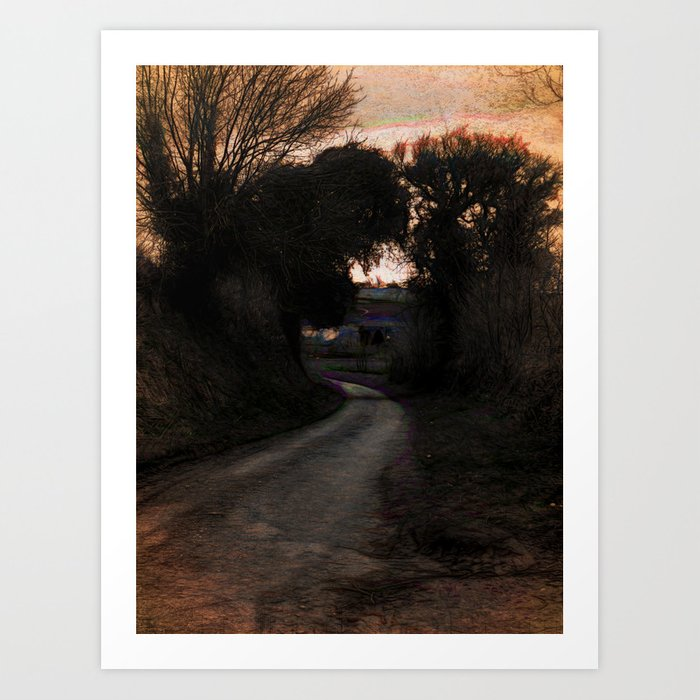 The Hollow At Twilight Art Print