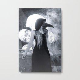 Miss Plague Metal Print