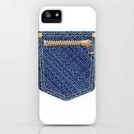 Zipper Pocket iPhone Case