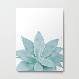Green Agave #1 #tropical #decor #art #society6 Metal Print