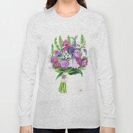 Natalie's Bouquet Long Sleeve T-shirt