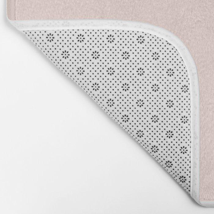 Minimalist Triangles Bath Mat