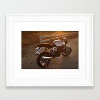 ducati Framed Art Prints featuring Ducati 003 by Austin Winchell