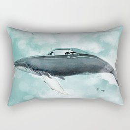 Humpback Camaro Rectangular Pillow