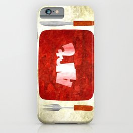 Bon Appetit iPhone Case