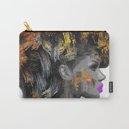 Afro-Girl Carry-All Pouch