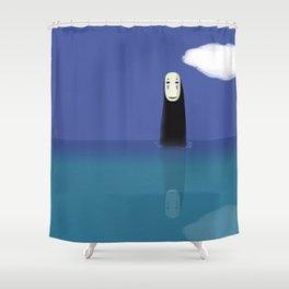 No-Face (Kaonashi) Shower Curtain