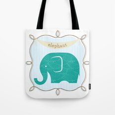 Fun at the Zoo: Elephant Tote Bag