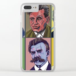 Thinkers Clear iPhone Case