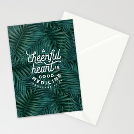 A Cheerful Heart Stationery Cards
