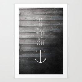It Is Well Art Print