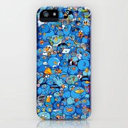 Twitter birds iPhone Case