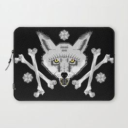 Silver Fox Geometric Laptop Sleeve