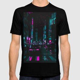 cyberpunk lost street T-shirt