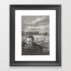 I Am Shipwrecked Framed Art Print