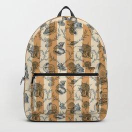 Stripes & Shells - orange Backpack