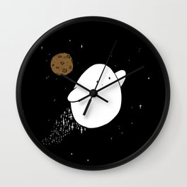 Chubby Nugget Cosmic Superpowers Wall Clock